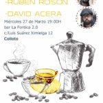 Cafetín con Rubén Rosón y David Acera – Colloto