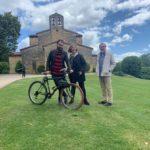 Ana Taboada defiende la ampliación del parque de Santuyano y la protección de la iglesia prerrománica