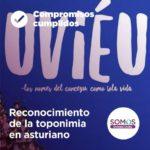 Reconocimiento de la toponimia en asturiano