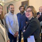 Taboada presenta la nueva convocatoria de becas en empresas para estudiantes de doctorado