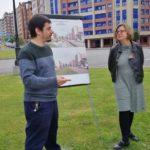 Huertos, paneles solares y un bulevar: Somos quiere que La Florida-Las Campas sea el primer ecobarrio asturiano