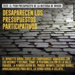 Desaparecen los presupuestos participativos