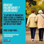 Gracias Voluntarios y Voluntarias