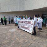 Somos reclama la incorporación de personal al centro de salud de La Corredoria